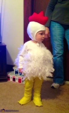 Cutest Chicken - Halloween Costume Contest via @costume_works