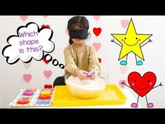This preschool shapes activity is the perfect way to teach toddlers shapes. This math themed sensory activity is a fun way for preschoolers to learn shaeps.