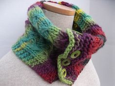 Ravelry: t-a-n-y-a's Kaleidoscope Cowl.