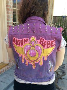 Punk Sailor Moon Battle Jacket