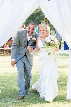 Katy & Michael's {Navy & Pink} & Wonderfully Fabulous Vintage Wedding Photographer:  Jennifer Weems Photography