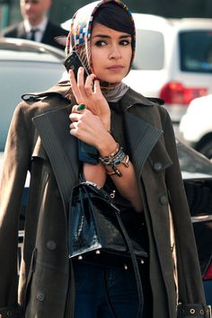 STREET STYLE: Miroslava Duma from Citizen Couture #streetstyle #fashion