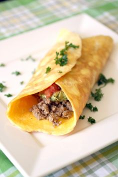Breakfast Burrito - low carb - these are soooo good and so very low in carbs!!! Easy fix too!