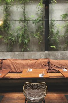 This was a remodel project for an existing restaurant establishment. Restaurant Zen, Restaurant Concept, Restaurant Design, Eclectic Restaurant, Exterior Design, Interior And Exterior, Wood Cladding, Lunch Room, Beer Garden