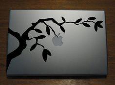 Macbook Decals by Gadget Decal Apple growing by GadgetDecalDotCom