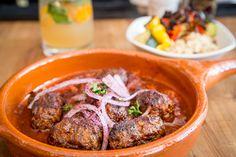 The Best Middle Eastern Restaurants in Toronto: Fat Pasha (Dupont) Cajun Recipes, Italian Recipes, Toronto Bars, Best Restaurants In Toronto, Middle Eastern Restaurant, Eastern Cuisine, Food Stall, Southern Recipes, Good Food
