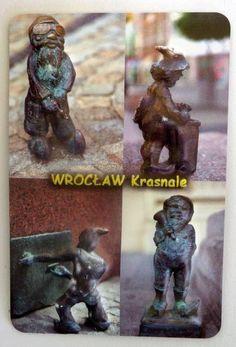 Pamiątkowy Magnes 3D Krasnale Wrocławskie. | Pamiątkowe Magnesy | Upominki24.com