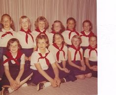 Camp Fire Girls. Many activities such as camping, plays,singing, service projects.  Mother was our Leader.