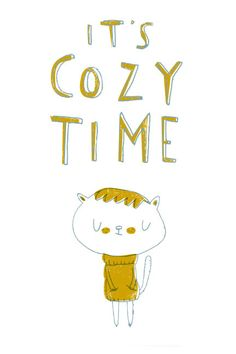 Cuddle up!