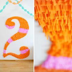 http://ohhappyday.com/2011/04/diy-fringey-monogram/