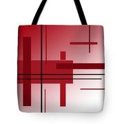Dinner Alone Tote Bag by Laura Greco