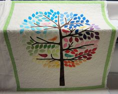 Tree Quilt - quilting by TLKennedy Longarm Quilting