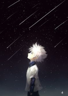 """Nobody wants to have their future to be planned out for them.""~Killua Zoldyck (Hunter X Hunter) Brilliant character"