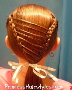 Swell Princess Hairstyles Girl Hair And Spider Webs On Pinterest Short Hairstyles Gunalazisus