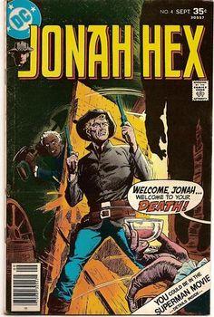 BRONZE AGE 1977 JONAH HEX #4 DC COMICS WESTERN ADVENTURE