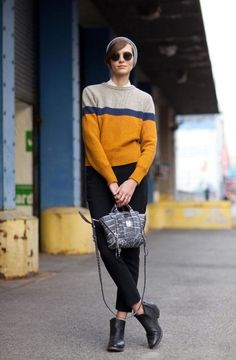 See the most chic on the streets of New York Fashion Week.
