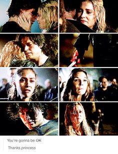 GAH FRICKEN DANG! This killed me... I mean, it killed Finn but it frustrated the crap out of me! YOU DO NOT LOVE HIM CLARKE! HE WAS CRAZY!