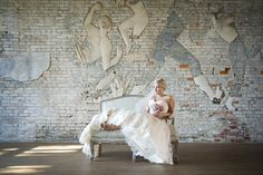romantic, urban bridal portrait session in the Florida Panhandle from Aislinn Kate Photography