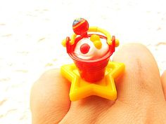 Kawaii  Ring Miniature Food Jewelry Ice Cream by SouZouCreations, $12.50