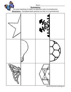 butterfly symmetry worksheet classroom ideas pinterest symmetry worksheets worksheets and. Black Bedroom Furniture Sets. Home Design Ideas