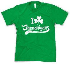 I Clover Shenanigans T-Shirt Funny St Patricks Day Shirt S Crazy Dog Tshirts,http://www.amazon.com/dp/B007IJZ2UE/ref=cm_sw_r_pi_dp_Sbh9sb143HRG3YMK