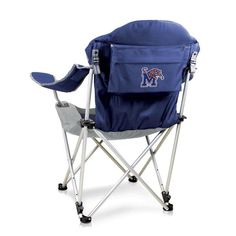 Reclining Camp Chair - Memphis Tigers - Oxemize.com