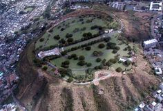 The Cemetery of the Pacific was constructed inside Punchbowl Crater in 1948 & the 1st remains were buried there on 1/4/49. Some of the first remains to be moved to the cemetery of the Pacific were 776 military personnel who died on December 7, 1941, during the Japanese attack on Pearl Harbor. The Punchbowl crater cemetery is now filled to capacity with more then 33,000 graves of military personnel who served in World War II, the Korean War, and the Vietnam War. photo: Kathleen Walling Fry