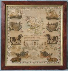 antique samplers  | ... | Antiques » Antique Textiles » Antique Samplers For Sale Catalog 2