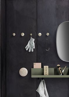 FOLDED: A Wall Storage System to Organize & Display Everyday Items Muuto folded shelves Coat Hanger, Coat Hooks, Wall Hanger, Wall Hooks, Wall Shelves, Shelf, Wall Storage Systems, Nature Decor, Vases