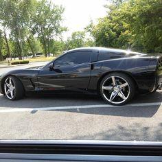 Black on black Corvette~