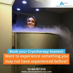 Book your #cryotherapy session today! #health #fitness #sports #dallas