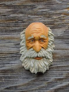 Original Wood Spirit Carving Ooak Hobbit Sorcerer Wizard Knome Scott Longpre