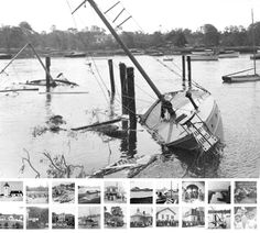 1938 Hurricane Barrington River...
