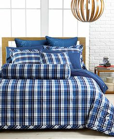 southern tide bedding, portside comforter sets - bedding