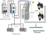 Esquemas eléctricos: Esquema de conexionado telerruptor