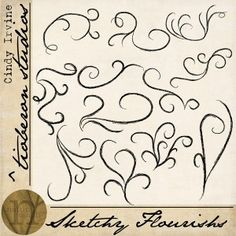 Sketchy Flourishes | review | Kaboodle