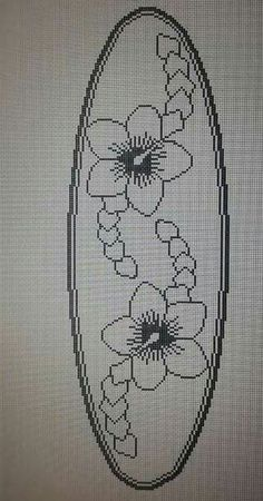 Embroidery Stitches, Embroidery Patterns, Hand Embroidery, Cross Stitch Patterns, Crochet Patterns, Crochet Doilies, Crochet Lace, Filet Crochet Charts, Bargello