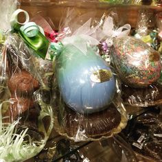 The most amazing #easterbaskets in #colorado - filled with fun #local #chocolateeggs, #bunnies, #marzipan, #truffles - make yours today & beat the rush!