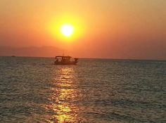 Peacefull view from #Kos to #Bodrum #sunrise