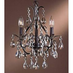 chandelier photos to pin to pinterest | Antique copper crystal | Dining Room | Pinterest