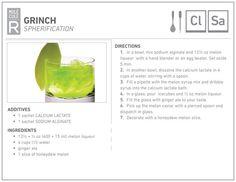 Molecular Grinch recipe - MOLECULE-R