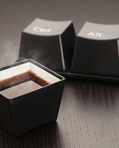 CTRL + ALT + DEL Coffee Mugs