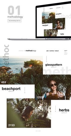 tumblr / About fashion on Web Design Served