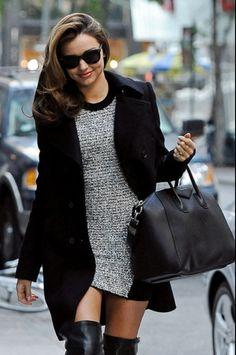 Miranda Kerr. Victoria Secret. Winter. Fashion. Style.