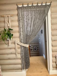 Tapestry Curtains, Boho Curtains, Panel Curtains, Wall Tapestries, Macrame Curtain, Large Macrame Wall Hanging, Interior Decorating, New Homes, Curtain Door