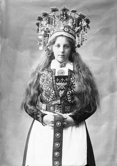 Traditional Norwegian wedding dresses