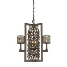 French inspired bronze chandelier. Love this