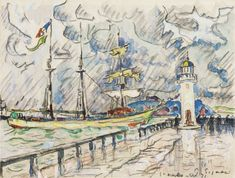 LA JETÉE ET LE PHARE By Paul Signac; watercolour and pencil on paper; Access more artwork lots and estimated & realized auction prices on MutualArt. Vanessa Bell, Paul Signac, Paul Cezanne, Jeanette Winterson, William Turner, Edward Hopper, Piet Mondrian, Virginia Woolf, Claude Monet