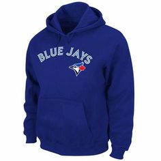 Majestic Toronto Blue Jays Shout Out Full Zip Hoodie - Royal Blue Baseball Jersey Outfit, Toronto Blue Jays Logo, Team Apparel, Full Zip Hoodie, Sweater Shirt, Hoodies, Sweatshirts, Autumn Winter Fashion, Royal Blue