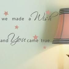 baby girl room quote